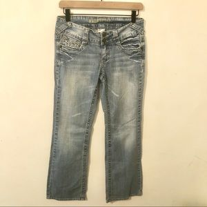 HYDRAULIC Bootcut Low Rise Jeans